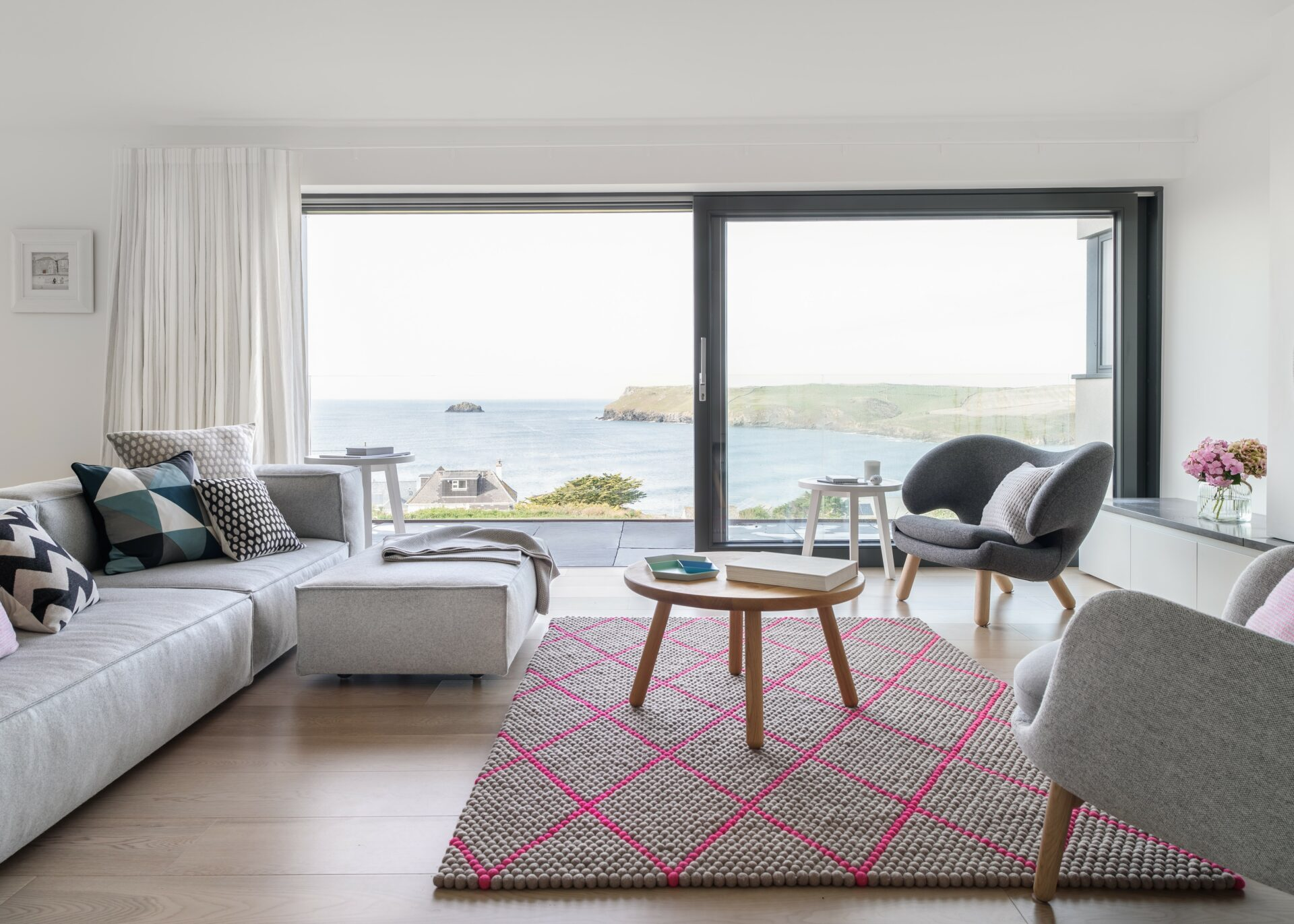 Polzeath Cornwall sustainable new build by ARCO2