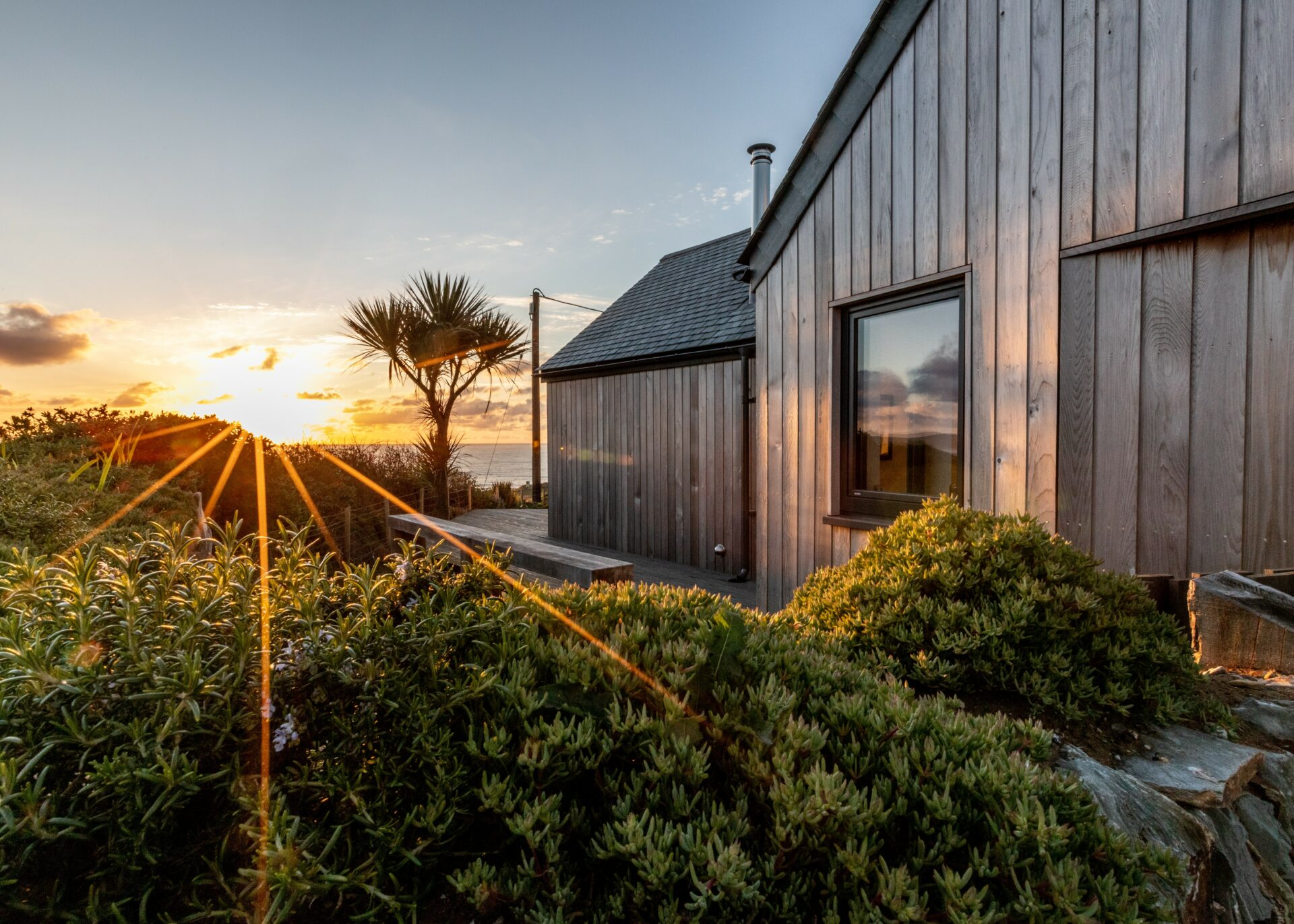 Stunning new build with sea views designed by Arco2 Architects Cornwall