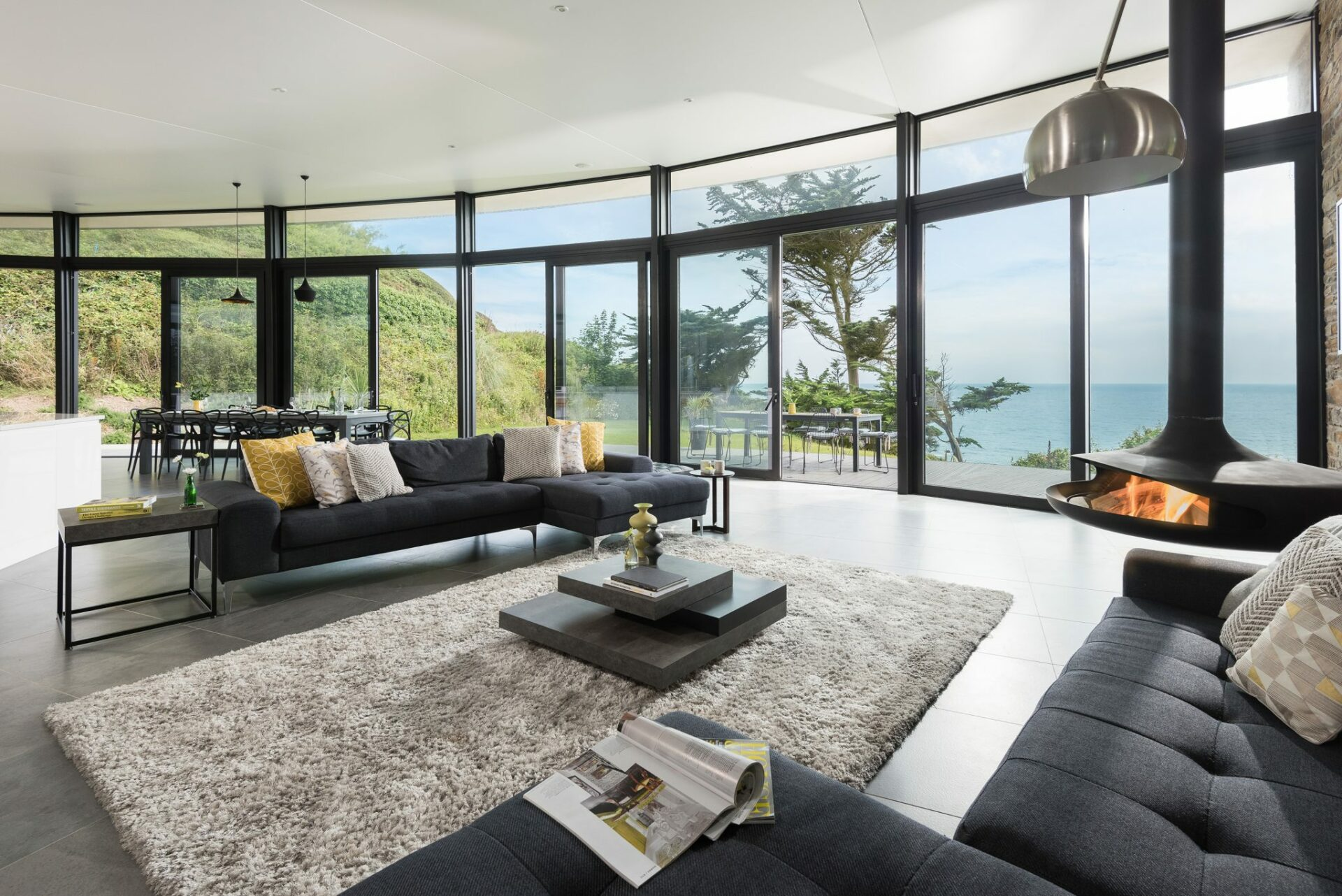 Sustainable new build designed by Arco2 Architects in Cornwall