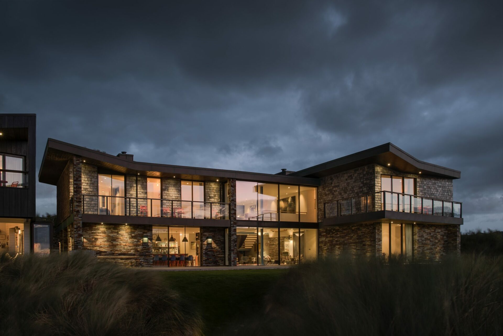 Sand Dunes Mawgan Porth By Arco2 Architects.