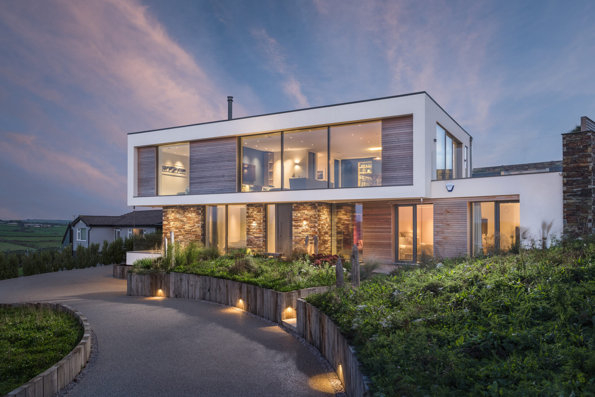 Furzy Close New Build Polzeath by ARCO2 Architects