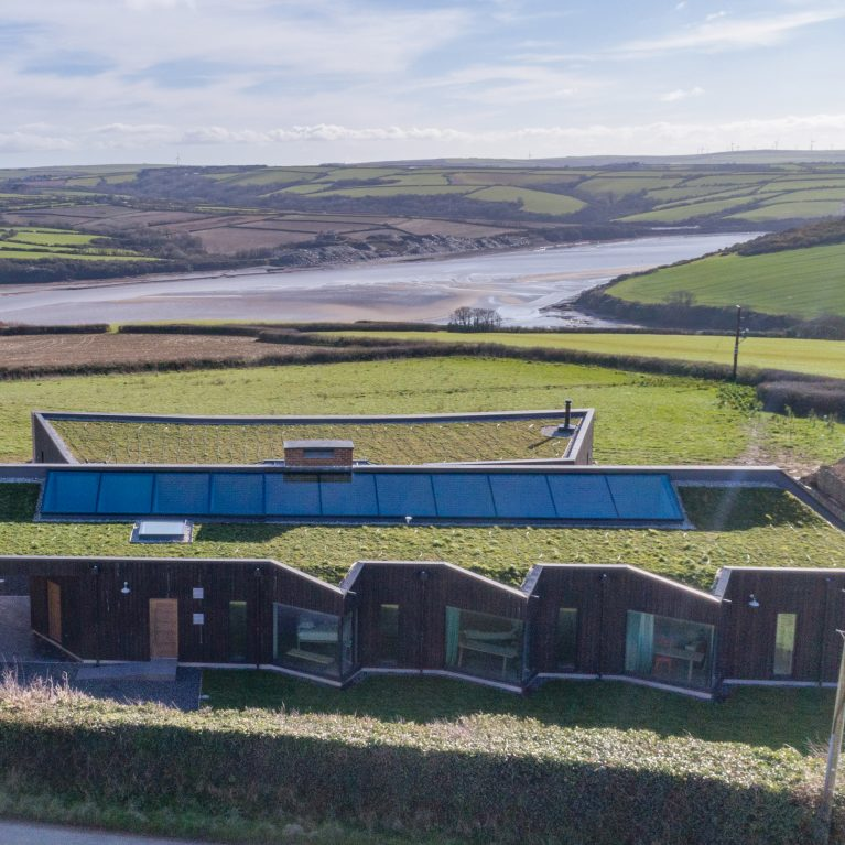 Arco2 Architect designed sustainable new build St Minver Wadebridge Cornwall