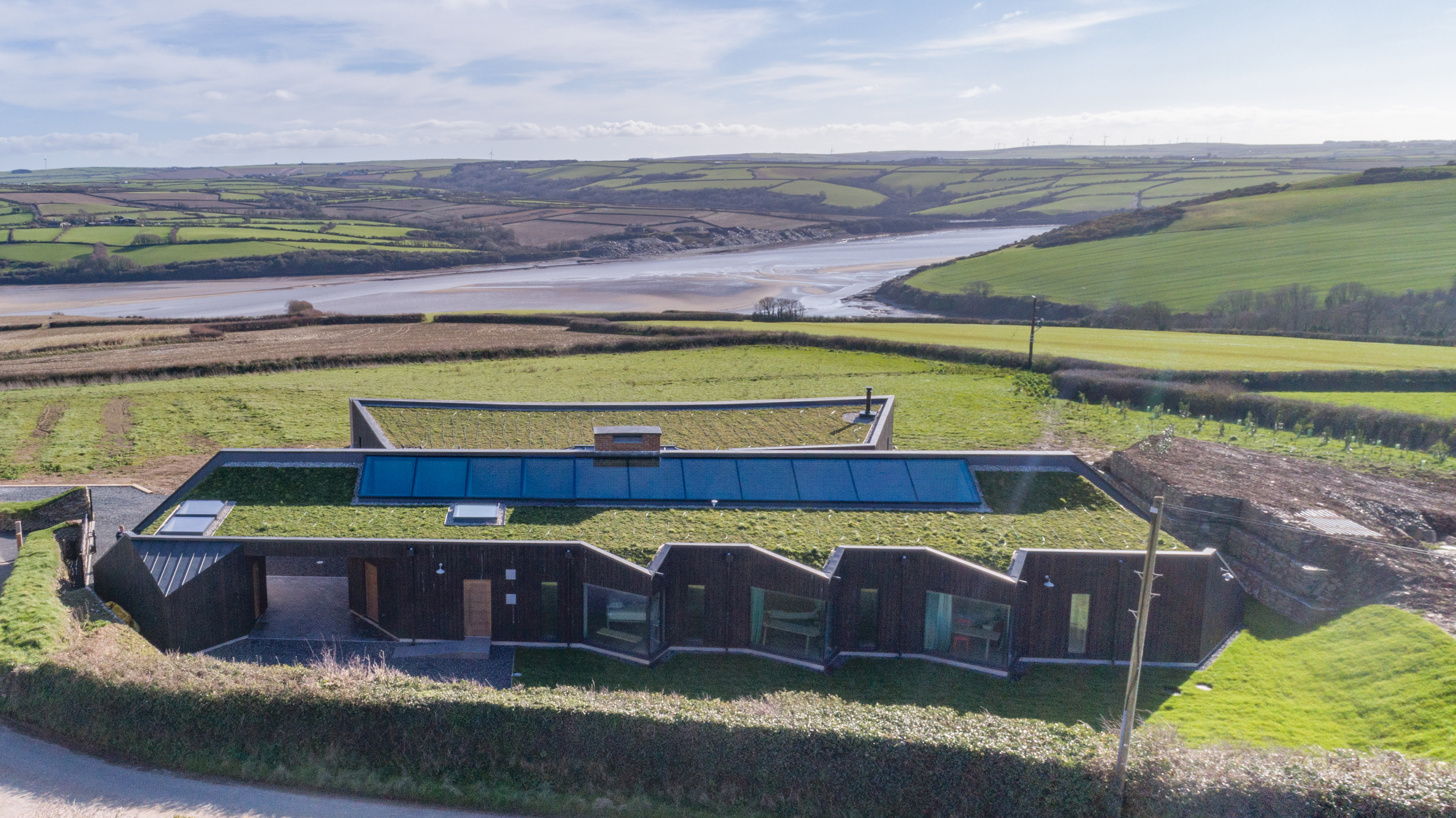 Arco2 Architect designed sustainable new build St Minver Wadebridge Cornwall
