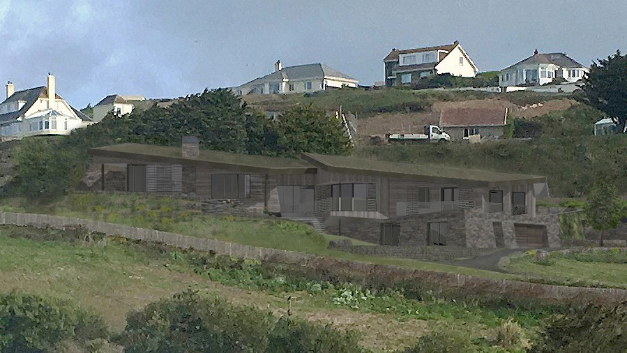 New Architectural Designs in Mawgan Porth By Arco2 Architects
