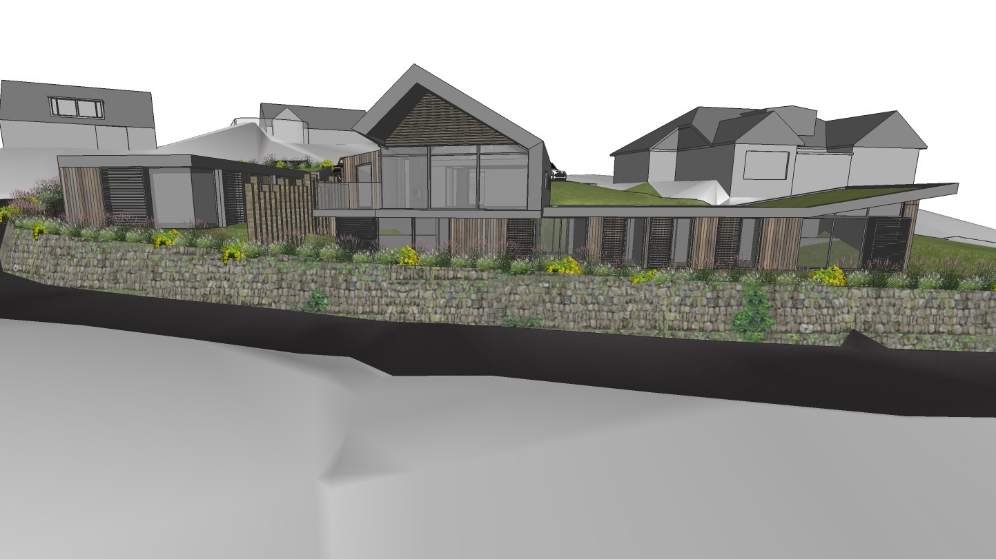 Mawgan Porth New Builds by Arco2 Architects