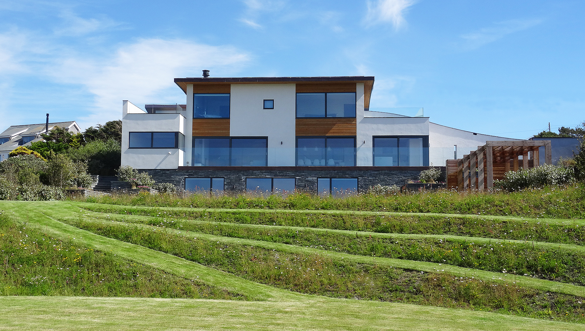 Mellalue New Build Polzeath by ARCO2 Architects