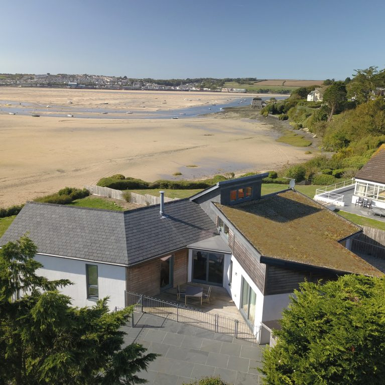 Arco2 designed sustainable new build Rock Cornwall