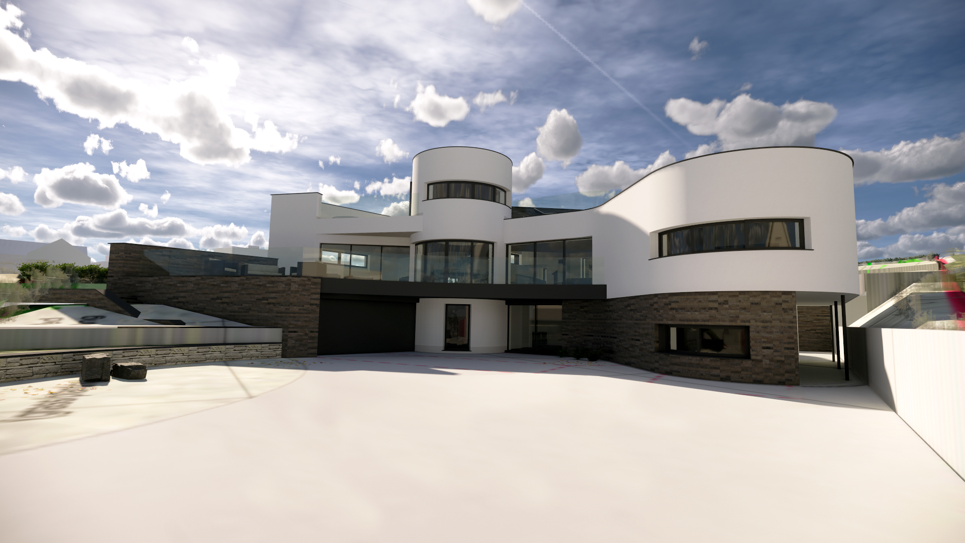 New build design in Trebetherick by Arco2 Architects Cornwall