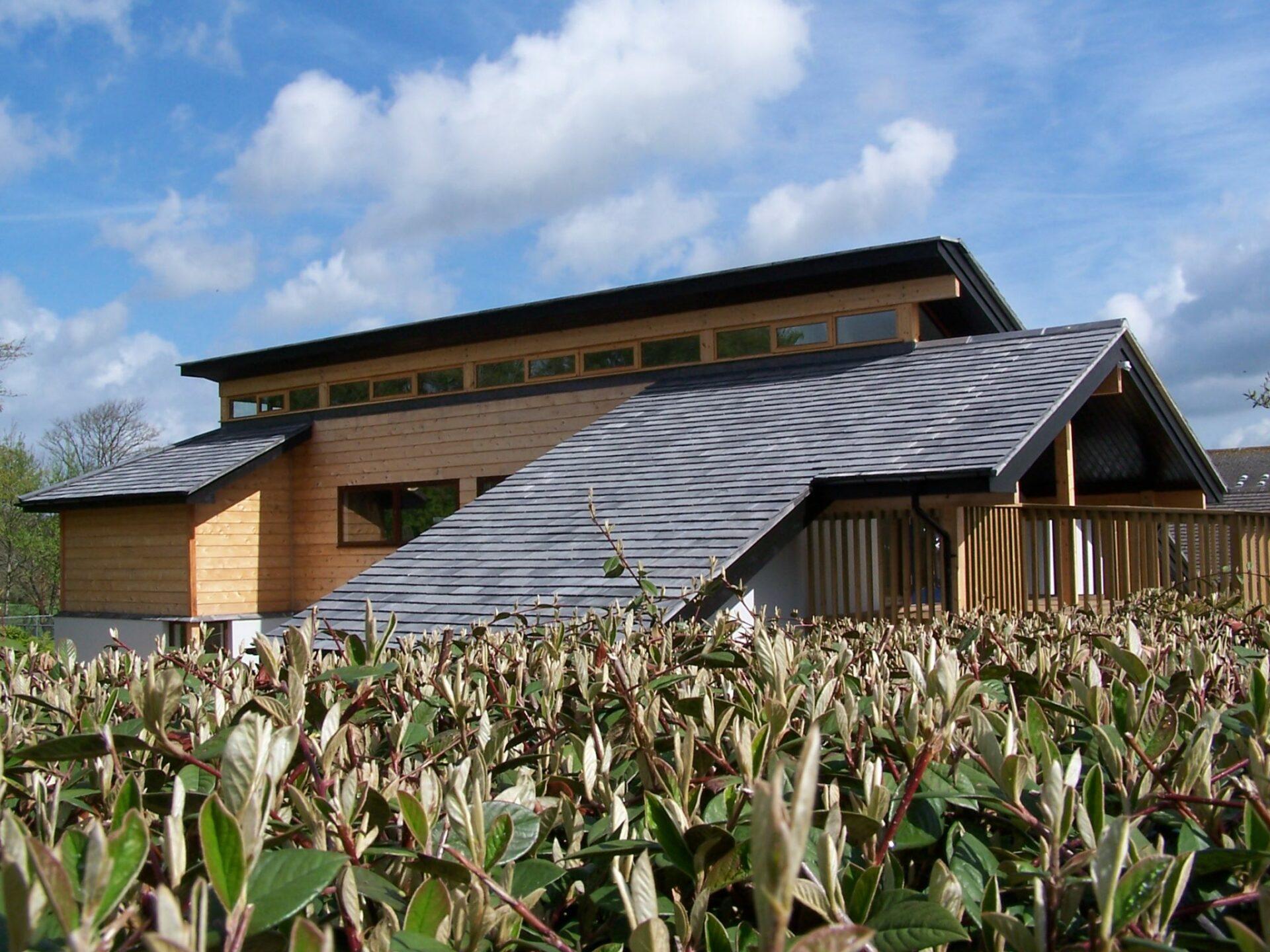 ARCO2 Designed Sustainable classroom in Wadebridge Cornwall