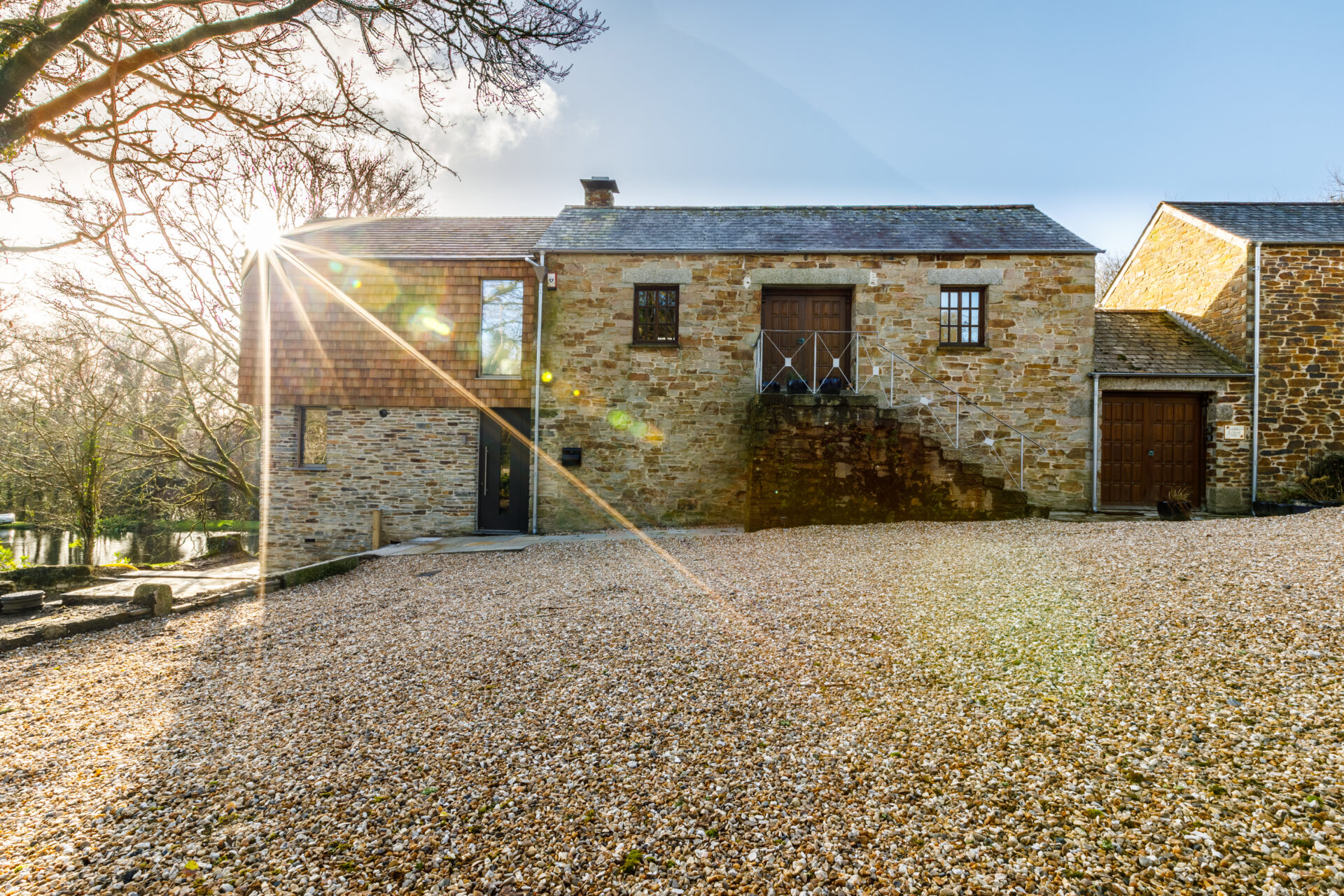 Farmhouse extension and alterations design by ARCO2 in Cornwall