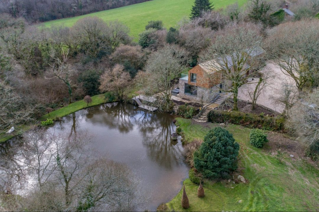 Arco2 designed farmhouse extension in Lanhydrock Cornwall
