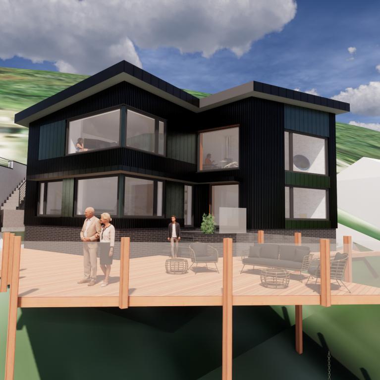 Successful pre-app design by Arco2 Architects in Bodmin Cornwall
