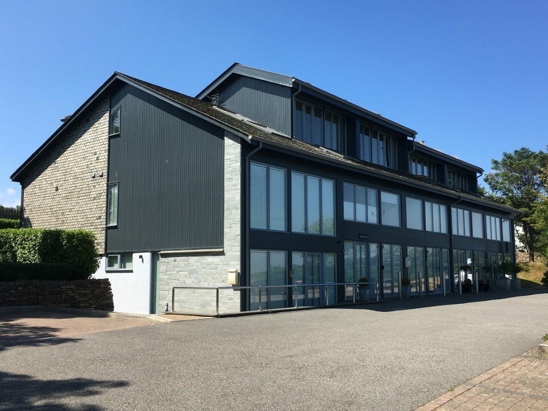 Designed by ARCO2 Architects Wadebridge Sustainable Live/Work Units