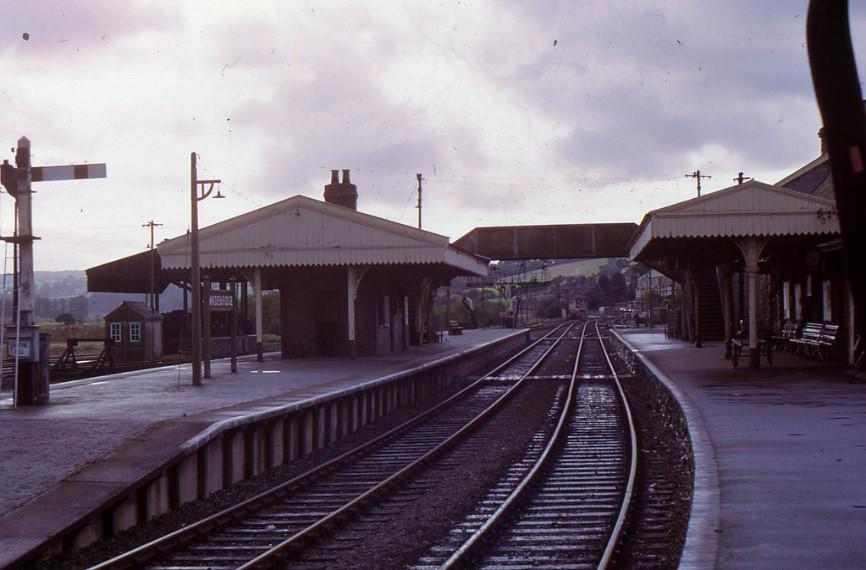 Arco2 Architects Wadebridge. Photograph of the old railway line in Wadebridge.