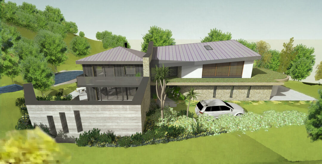 Build a unique home in Cornwall